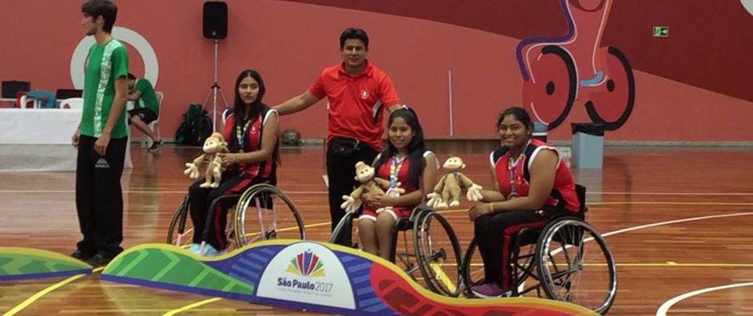 Selecci n de b squet en silla de ruedas obtuvo la presea de bronce anpperu - Baloncesto silla de ruedas ...